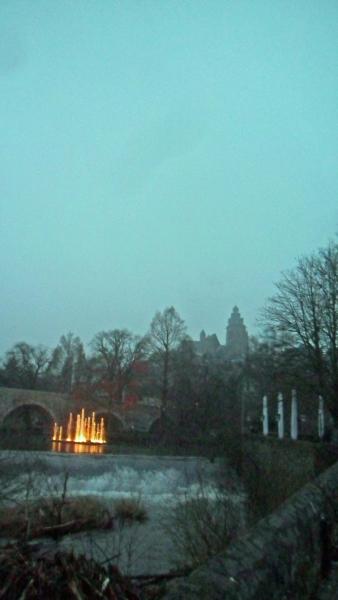 Springbrunnen und Dom