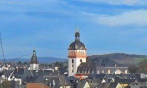 Blick auf die Weilburger Schlosskirche, Foto: KS