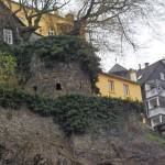 Blick zur alten Weilburger Stadtbefestigung