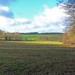 Blick über die Hasselbacher Felder