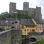 Burg Runkel mit Steinerner Brücke
