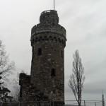 Garbenheimer Warte oder Bismarckturm im Januar 2016