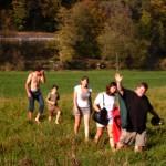 Gesundheitswandern mit Jung und Alt, Foto: Privat
