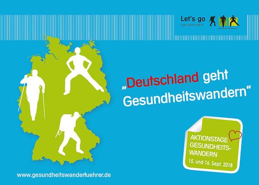 Mittwochs-Wanderung – Deutschland geht Gesundheitswandern!